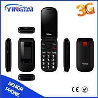 Dual SIM Dual Screen 3G Senior Mobile Phone