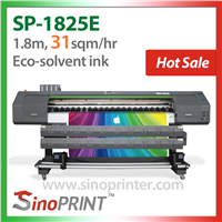 Eco-Solvent large format inkjet Printer for Indoor or Outdoor (SP-1825E)