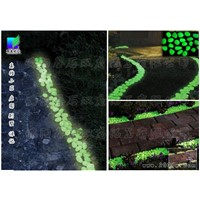 Luminous stone, luminous cobblestone, gravel luminous, luminous sand