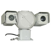 1500M long range night vision laser IR PTZ CMOS auto focus