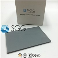 4mm 5mm 5.5mm 6mm 8mm 10mm 12mm Euro Gray/Grey Tinted Float Glass