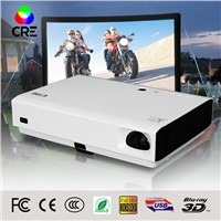 Cre X3000 short throw high quality fast shipping mini laser cinema 3D home dlp projector 1080p