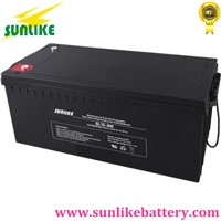 Deep Cycle AGM Sealed Lead Acid Battery 12V200Ah