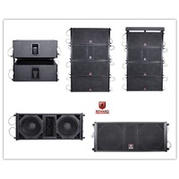 Dual 10'' Powerful Sound Speaker Line Array System