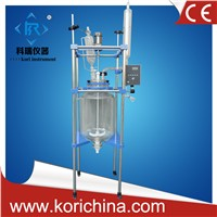 150L Double Layer jacketed glass reactor with ex-proof motor