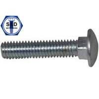 Carriage Bolt ASTM A307 Gr. a Zinc Plated