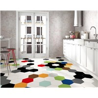 Digital Flooring Floor tile Ceramic Hexagon Tiles