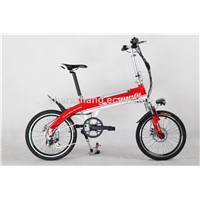 20 inch 7 speed electric bike for adults 36V bike with battery