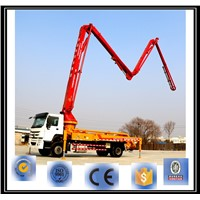 33m best price high quality concrete boom pump truck for sale