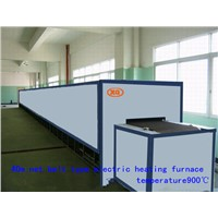 Glass annealing furnace heating continuous production of glass machinery