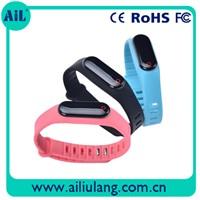 Free Sample Bluetooth Sports Bracelet with CE FCC RoHS