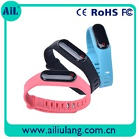 Free Sample Bluetooth Heart Rate Bracelet with CE FCC RoHS