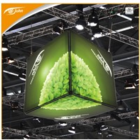Aluminum frame cube led advertising light box