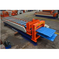 Double layer tile roof steel roof forming machine