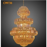 Hotel chandelier luxury crystal chandelier
