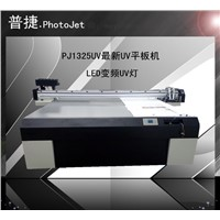 PJ1325 ECO solvent flatbed printer China direct supplier