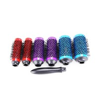 Hair Brush with Detachable Rollers Detachable Hair Brush Heads