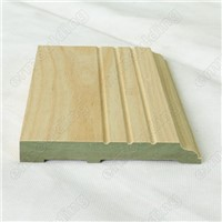 Waterproof MDF Baseboards Mouldings Profile China Supplier