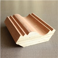 wood veneer furniture top crown moulding profiles