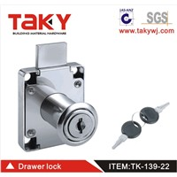 TK-139 Desk Drawer Lock- Lock Focus