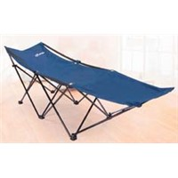 Comfortable camping folding bed, 600D oxford camping cot for single person