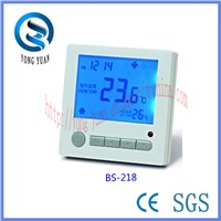 LCD Room thermostat for Air Conditioning (BS-218)