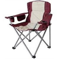 Portable beach chair, folding camping chair, comfortable polyester outdoor chair
