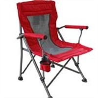 Portable polyester outdoor chair, beach folding chair, camping chair comfortable