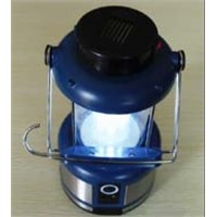 LED camping lantern, portable mini outdoor camping light, solar rechargeable camping lantern