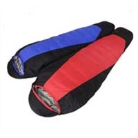 Portable light weight outdoor camping hiking warm duck down bivy sack sleeping bag