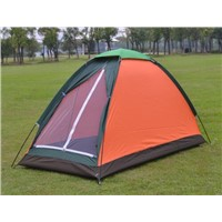 waterproof camping tent, single person single layer tent for camping