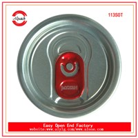 Wholesale aluminum easy cap 113#SOT beverage easy open end for drinks