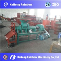 China manufacture supply sliver charcoal making machine