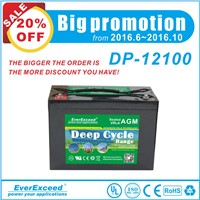 EverExceed Deep cycle AGM Range  VRLA Battery