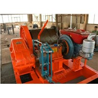 10t diesel engine power winch for constructing industry