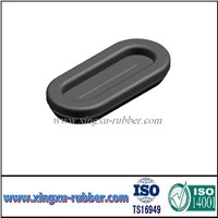 silicone oval rubber grommet