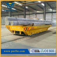 self-propelled rail transfer cart, railway transfer trolley