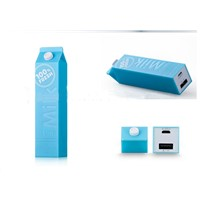 Promotion Gift Milk Power Bank 2600mAh USB Power Bank