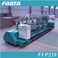 Concrete vibrator paver machine for concrete road paving