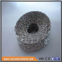 Stainless Steel Compressed Knitted Wire Mesh