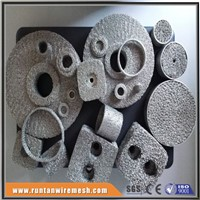 Compressed Knitted Wire Mesh