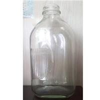 1/2 gallon 64oz 48mm reusable milk glass bottle