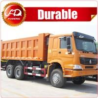 China heavy transportation HOWO dumper truck for sale in pakistan