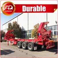 Offer overseas service 20ft side loader box loader container side lift truck