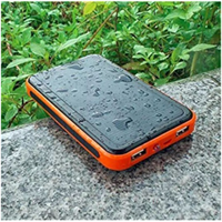 Ail 2016 New Free Sample S05 Solar Series Water Proof Power Bank