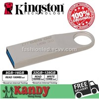 Kingston Dtse9 g2 Metal USB 3.0 Flash Drive Pen Drive 8gb 16gb 32gb 64gb 128gb