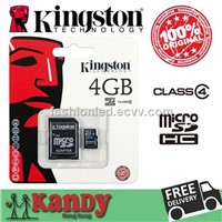 Kingston Micro Sd Card Memory Card 4gb 8gb 16gb 32gb Class 4 Microsd Cartao De