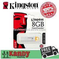 Kingston USB 3.0 Flash Drive Pen Drive 8gb 16gb 32gb 64gb 128gb Stick Gift Pendrives Memoria