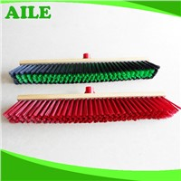 Yiwu High Quality Cleaning Floor Broom With Long Wooden Handle