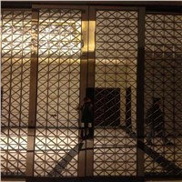 Custom metal work stainless steel screen,decorative screen partition
